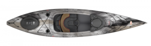 Brand new Old Town Loon 126 Angler sit in fishing kayak.