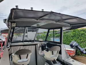 2009 6.7m Surtees Gamefisher Hardtop - Twin 115hp Mercury Outboards