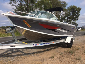 New Model Quintrex 450 Fishabout Pro F75 Yamaha Pack 4