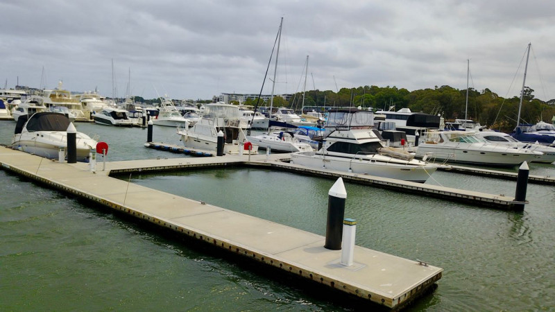 60 Foot Berth Cabarita Point Sydney