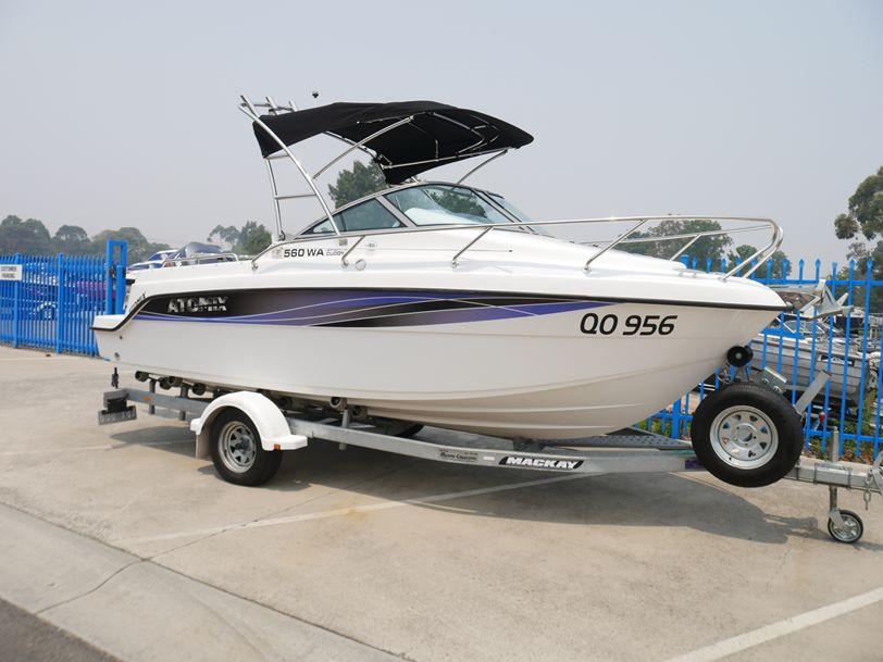 Atomix 560 WA Sports Cuddy