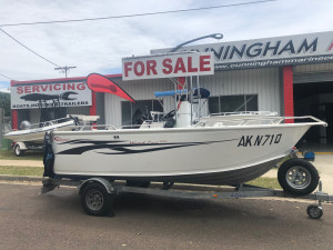 2007 FOUR SEASONS WIND FREE CENTRE CONSOLE WITH 90Hp YAMAHA 2-STROKE (274Hrs)