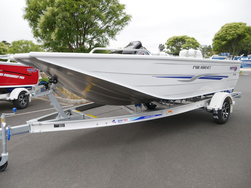 Quintrex F481 Hornet - Open Fishing Boat