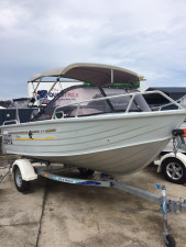 FOR SALE USED ALLYCRAFT 410 SCOUT