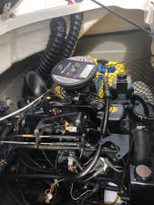 USED 2011 LARSON LX710 BOWRIDER WITH 135HP 3.0LT MERCRUISER (104HRS)