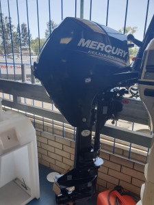 20hp Mercury 4 stroke, electric start 2019 UNDER 5HRS OLD