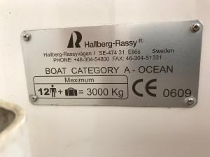 Hallberg-Rassy 43 Mk 2