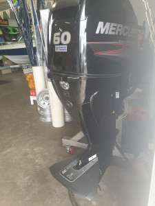 60hp Mercury 4 stroke 16 hours old! Purchased 5/19