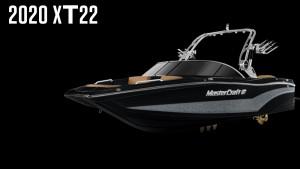 MasterCraft XT22 2020 Model - Midnight Black + Silver Flake