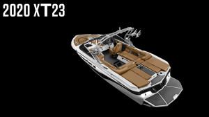MasterCraft XT23 2020 Model - White + Black Mica Flake