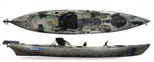 Brand new Ocean Kayak Prowler Ultra 4.1 kayak with rudder reduced from $2029 to $1649! 1 only