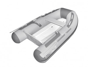 Brand new Zodiac Cadet 300 Compact hypalon RIB with folding transom reduced from $5819 to $4749! (1 only)