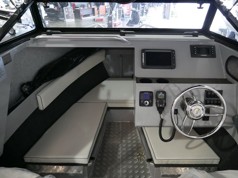 YELLOWFIN 5800 FOLDING HARD TOP