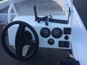 Used Quintrex 440 Hornet Trophy fitted with a Mercury 60 Hp EFI 4 stroke