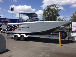 Quintrex Freestyle 630 Our Pack 2 with a F 150 Yamaha