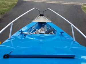 USED 2015 BAR CRUSHER 490 C CUDDY CAB WITH YAMAHA 60 HP 4 STROKE FOR SALE