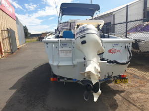 510 Allycraft, trailer & 90hp Johnson