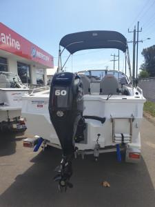 429 SeaMaster, Trailer & 60hp Mercury 4 stroke
