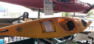 Used Perception Acadia 370 sit in touring kayak in excellent condition selling for only $799!