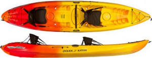 Brand new Ocean Kayak Malibu 2 XL 2 person sit on top recreational kayak