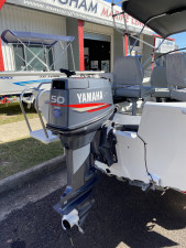 USED 2012 BROOKER 4.5 SEAMAN WITH 2012 50HP YAMAHA 2-STROKE