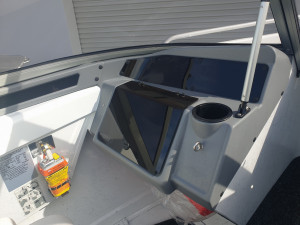 469 Seamaster Stacer, trailer & 75hp Mercury 4 stroke 6HOURS OLD
