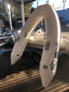 Brand New Force 4  2.4m removable tubes to suit a Force 4  2.4m aluminium hull inflatable boat