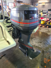 130hp Yamaha 2 stroke 352 hours FITTED PRICE