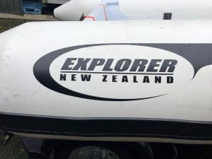 Brand new Explorer NZ 340 Scout aluminium RIB.