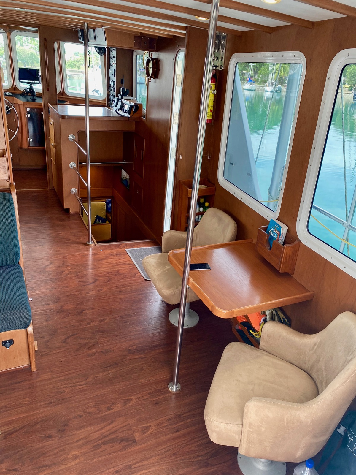 Trawler Engine Room: CUSTOM LONG RANGE OFFSHORE TRAWLER - MOTORSAILOR