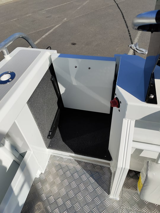 Yellowfin 6200 Cabin - Plate Offshore Fishing Boat