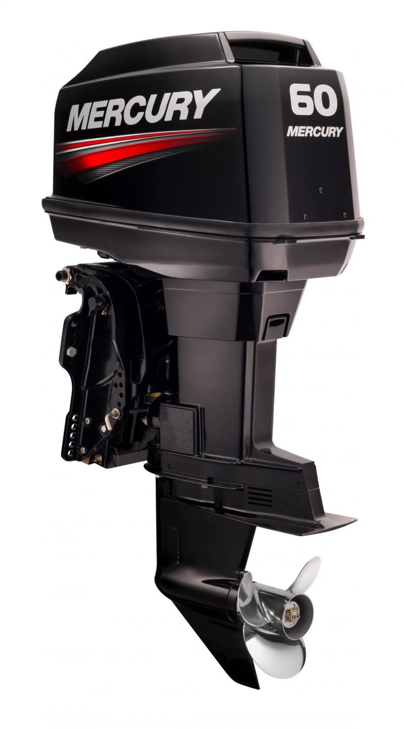 Mercury 60 hp twostroke north coast boating for Kawasaki outboard boat motors