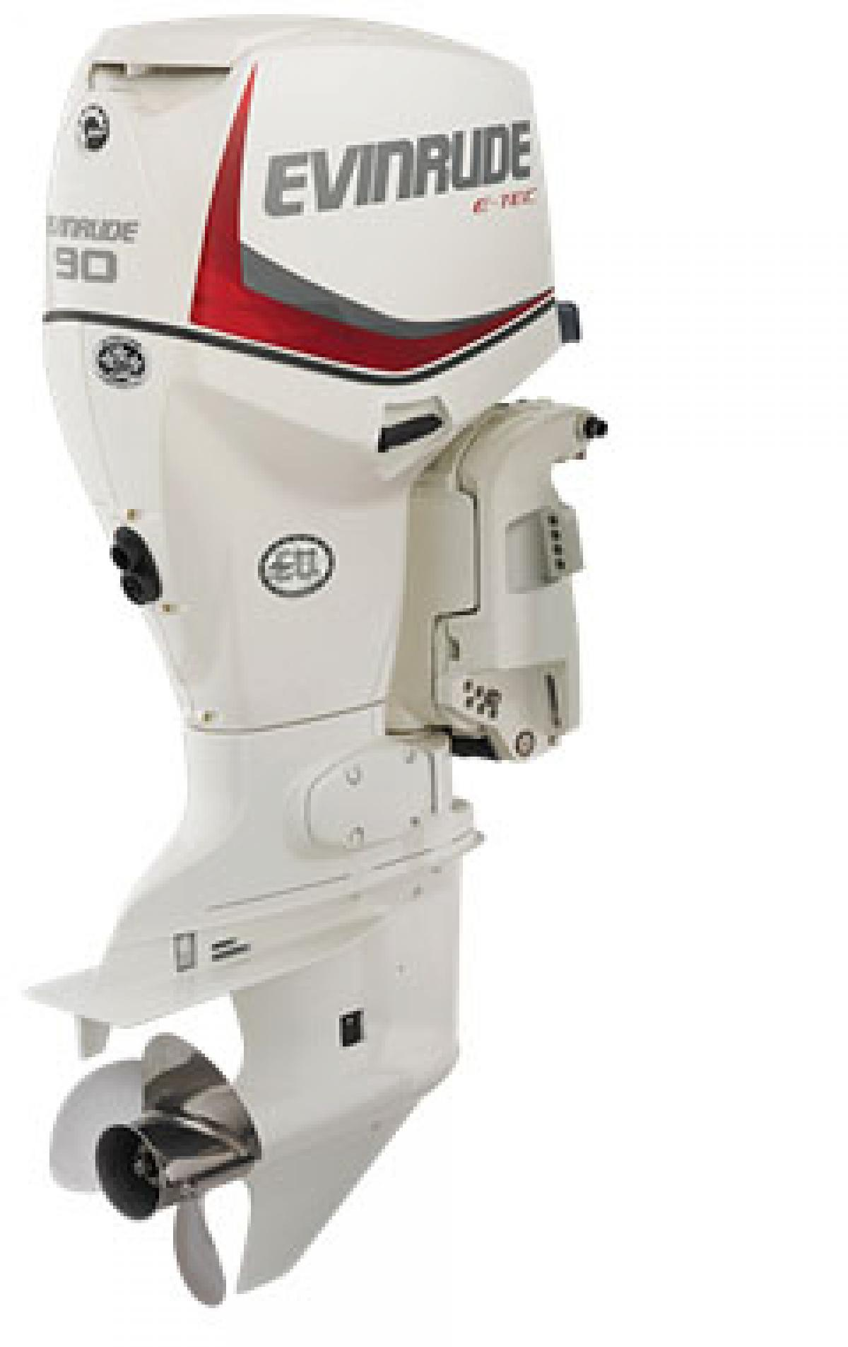 Evinrude E-tec 90hp Direct Injection Outboard - JV Marine