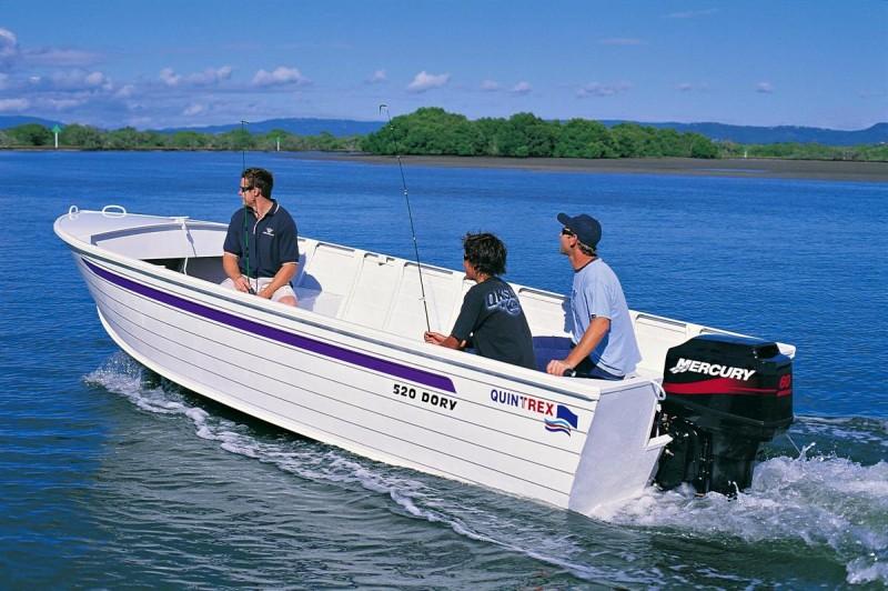 Quintrex 520 Dory Deegan Marine