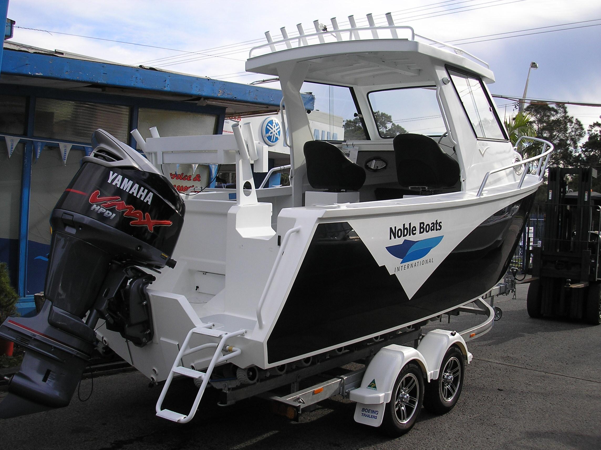 Noble 625 Cabin Hull Enterprise