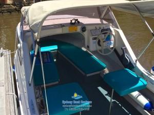 Swiftcraft Seagull Half-Cabin Trailer Boat For Sale, 1988 model