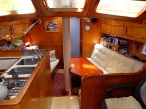 Adams 48 Centre Cockpit Ketch