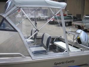Morningstar 498 Cuddy Cabin