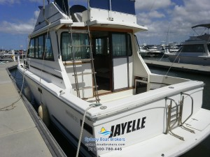 1980 Mariner 31 Flybridge