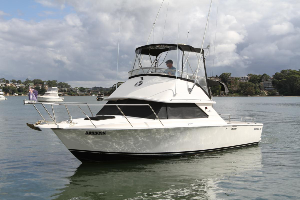 Bertram 28 Flybridge Cruiser Sylvania Marina